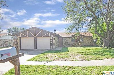 Killeen Single Family Home For Sale: 1902 Shoemaker Drive