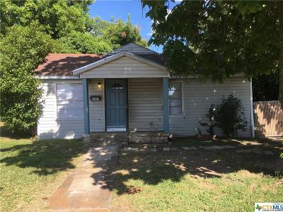 Temple TX Single Family Home For Sale: $70,000