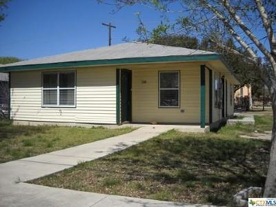 Seguin Single Family Home For Sale: 728 & 738 Elley Street