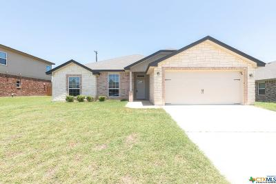 Killeen Single Family Home For Sale: 2509 Montague County Drive
