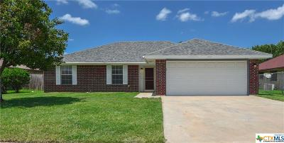 Killeen Single Family Home For Sale: 1803 Sandstone Drive