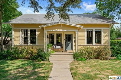 San Marcos Single Family Home For Sale: 1203 Belvin Street