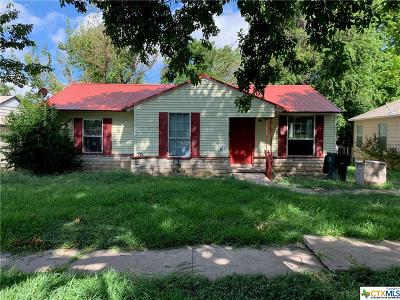 Temple Single Family Home For Sale: 1610 S 9th Street