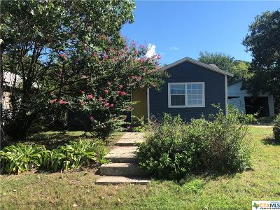 Gatesville TX Single Family Home For Sale: $49,000