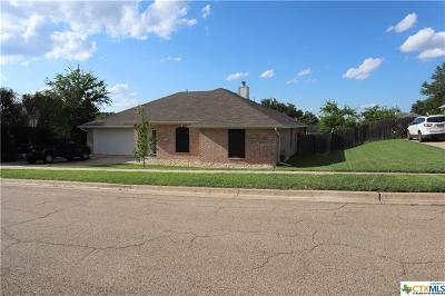 Copperas Cove Single Family Home For Sale: 911 Kelso Drive