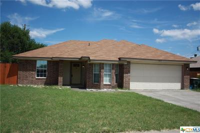 Killeen Single Family Home For Sale: 2612 Hidden Hill Drive