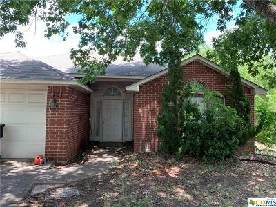 Temple TX Single Family Home For Sale: $114,000