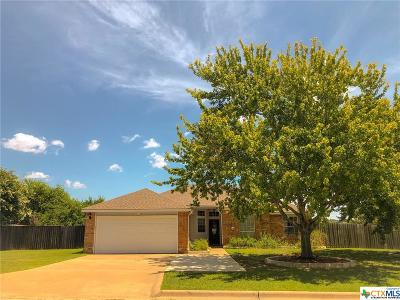 Harker Heights Single Family Home Pending: 411 Tomahawk Drive