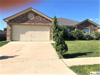 Killeen Single Family Home For Sale: 1403 Trail Boss