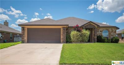 Killeen Single Family Home For Sale: 609 W Little Dipper Drive