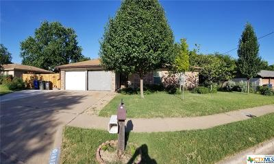 Copperas Cove Single Family Home For Sale: 1813 Pleasant Lane