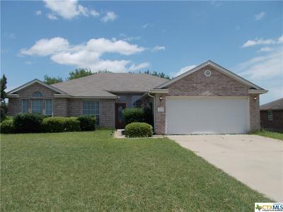 Harker Heights Single Family Home Pending: 609 Hogan Drive