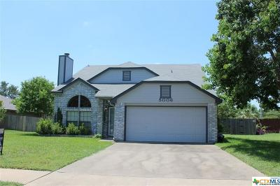 Killeen Single Family Home For Sale: 5006 Creekside Drive