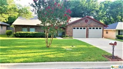 Temple Single Family Home For Sale: 2107 Madden Road