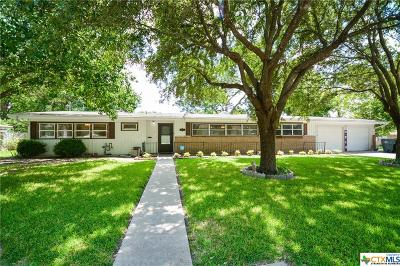 Temple TX Single Family Home For Sale: $159,900