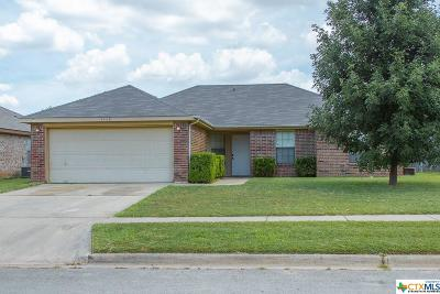 Killeen Single Family Home For Sale: 4406 Bowles Drive