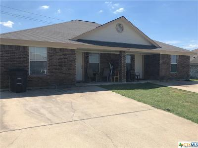 Killeen Multi Family Home For Sale: 3510 Littleleaf Drive