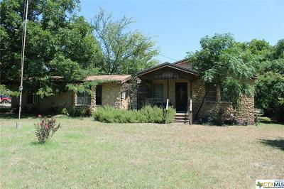 Gatesville TX Single Family Home For Sale: $89,000