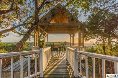 Canyon Lake TX Single Family Home For Sale: $360,000