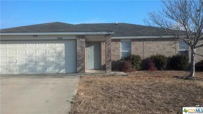 Killeen Single Family Home For Sale: 4111 Sand Dollar Drive
