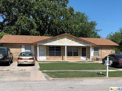 Killeen Multi Family Home For Sale: 1515 Janis Drive