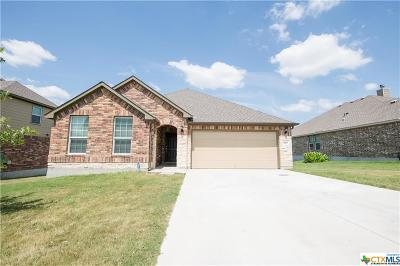 Harker Heights Single Family Home For Sale: 3202 Green Meadow Drive