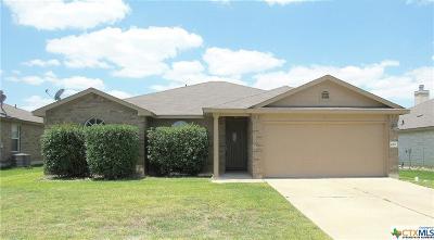 Killeen Single Family Home For Sale: 4907 Williamette Lane