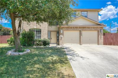 Harker Heights Single Family Home Pending: 2201 Wilderness Drive