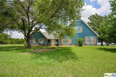 Milam County Single Family Home For Sale: 1356 N Highway 36