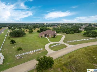 Salado Single Family Home For Sale: 121 Eagle Rock