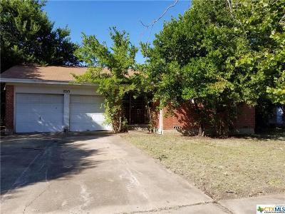 Killeen Single Family Home For Sale: 2315 Mary Lane