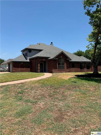 Harker Heights Single Family Home For Sale: 1605 Man O War Drive