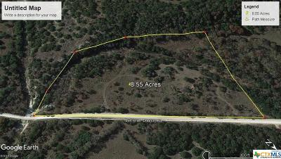 Copperas Cove Residential Lots & Land For Sale: 8.55 Acres Lutheran Church Road