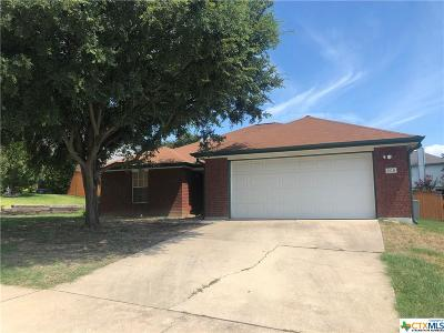 Copperas Cove Single Family Home For Sale: 408 John Henry Circle