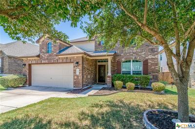 Round Rock Single Family Home For Sale: 3633 Penelope Way