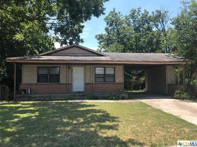 Copperas Cove Single Family Home Pending: 303 Meggs Boulevard
