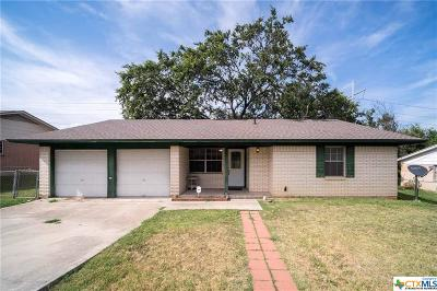 Copperas Cove Single Family Home Pending: 1006 Sherry Lane