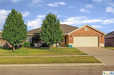 Copperas Cove Single Family Home Pending: 2501 Gail Drive