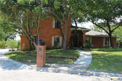 Harker Heights Single Family Home For Sale: 710 Coyote Circle