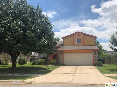 Temple, Belton Single Family Home For Sale: 5423 Whistle Stop Drive