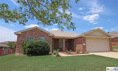 Harker Heights Single Family Home For Sale: 302 Canoe Drive