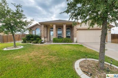 Killeen Single Family Home For Sale: 9201 Zayden Drive