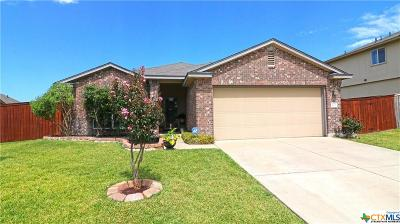 Copperas Cove Single Family Home Pending: 2103 Griffin Drive