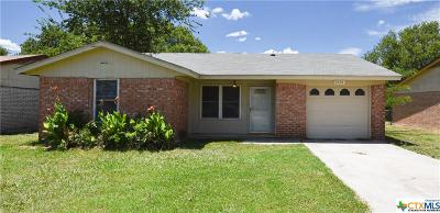Killeen Single Family Home For Sale: 2514 Hidden Valley Drive