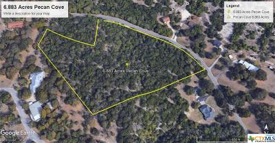 Copperas Cove Residential Lots & Land For Sale: 8.16 Acres On Pecan Cove