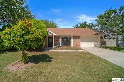Copperas Cove Single Family Home Pending: 115 Nelson Drive