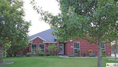 Harker Heights Single Family Home Pending: 1402 Saxon Circle