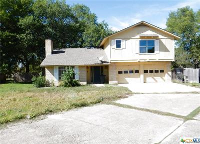 Harker Heights Single Family Home For Sale: 223 W Mockingbird Lane