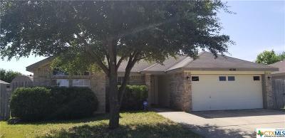 Killeen Single Family Home For Sale: 4508 Captain Drive