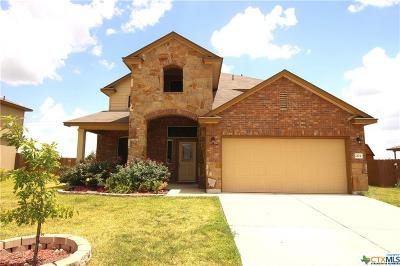 Copperas Cove Single Family Home Pending: 2104 Jesse Drive